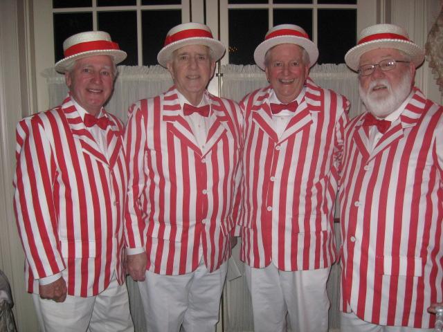Barbershop Quartet : for a barbershop quartet. ..