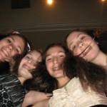 Rebececca and her friends