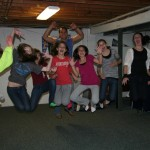 The Bat Mitzvah was still a week away, but Jenny and her friends were ready party!