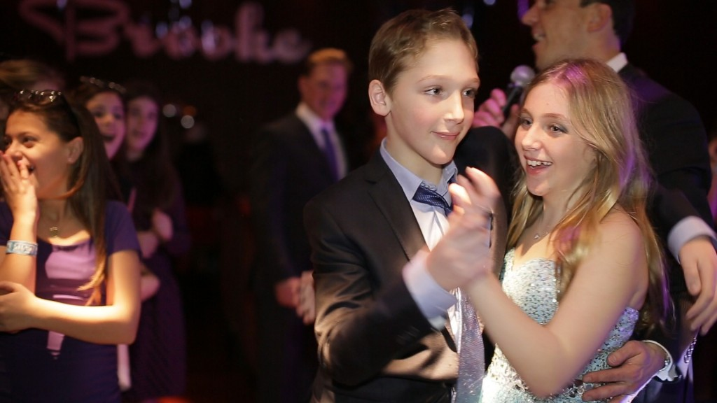 Jordan dances with his younger sister, Brooke, at 201 Club.  Marcello Pedalino, MMP Entertainment