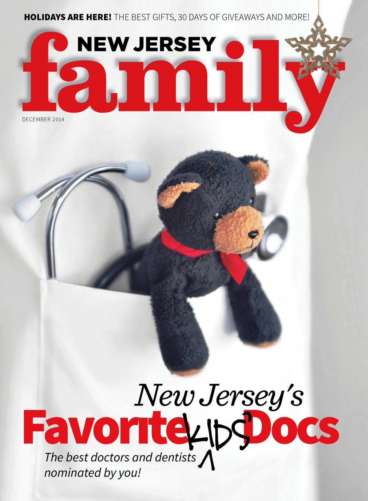 New Jersey Family Magazine, Top Kids' Docs issue