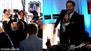 MMP Entertainment, Marcello Pedalino, Short Hills Hilton, NJ Bar Mitzvah DJ, Special Event Production, Celebrate Life
