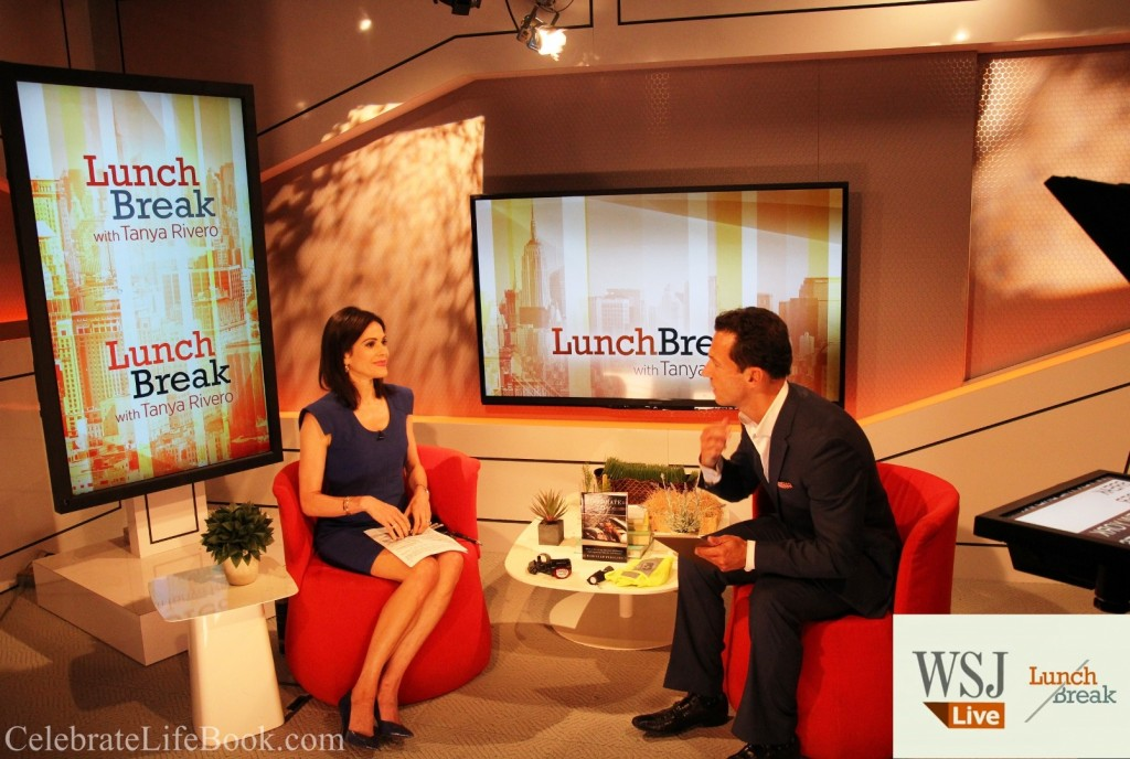 Wall Street Journal, Lunch Break, Marcello Pedalino, Tanya Rivero, Jogger Safety Tips