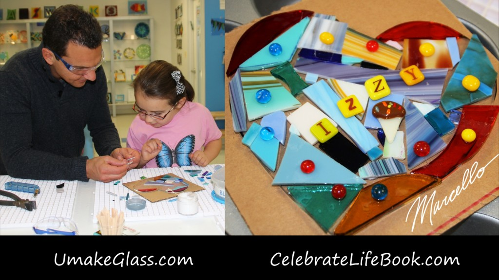 Glassworks, Morristown NJ, Marcello Pedalino, Celebrate Life, Family Fun, Unplugged activitis