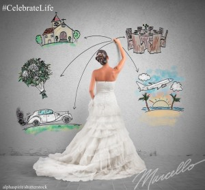 Marcello Pedalino, Celebrate Life, FairyTale Wedding Planning, Talk Space, CelebrateLifeBook.com