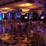 Yankee Themed Decor and LED Up-Lighting