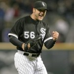 White Sox pitcher Mark Buehrle threw a no hitter.