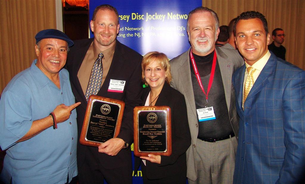 RayMar, Jake Jacobsen, Randie Rae, ADJA Pres. Dr. Drax, & Marcello