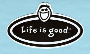 """Life Is Good."" logo"