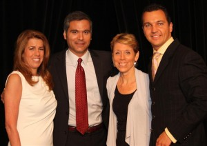 Lisa Futterman, Chris Cimino, Susan Zurndorfer and Marcello