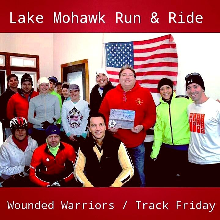 Marcello Pedalino, Wounded Warrior Project, Lake Mohawk, Sparta, Track Friday, Terry Contaxis, Michael Contaxis, Ron Contaxis, Michael Walter, Dr. Jill Garripoli, George Panzitta, Eric Rubinson, Lisa Goldman Truesdale,