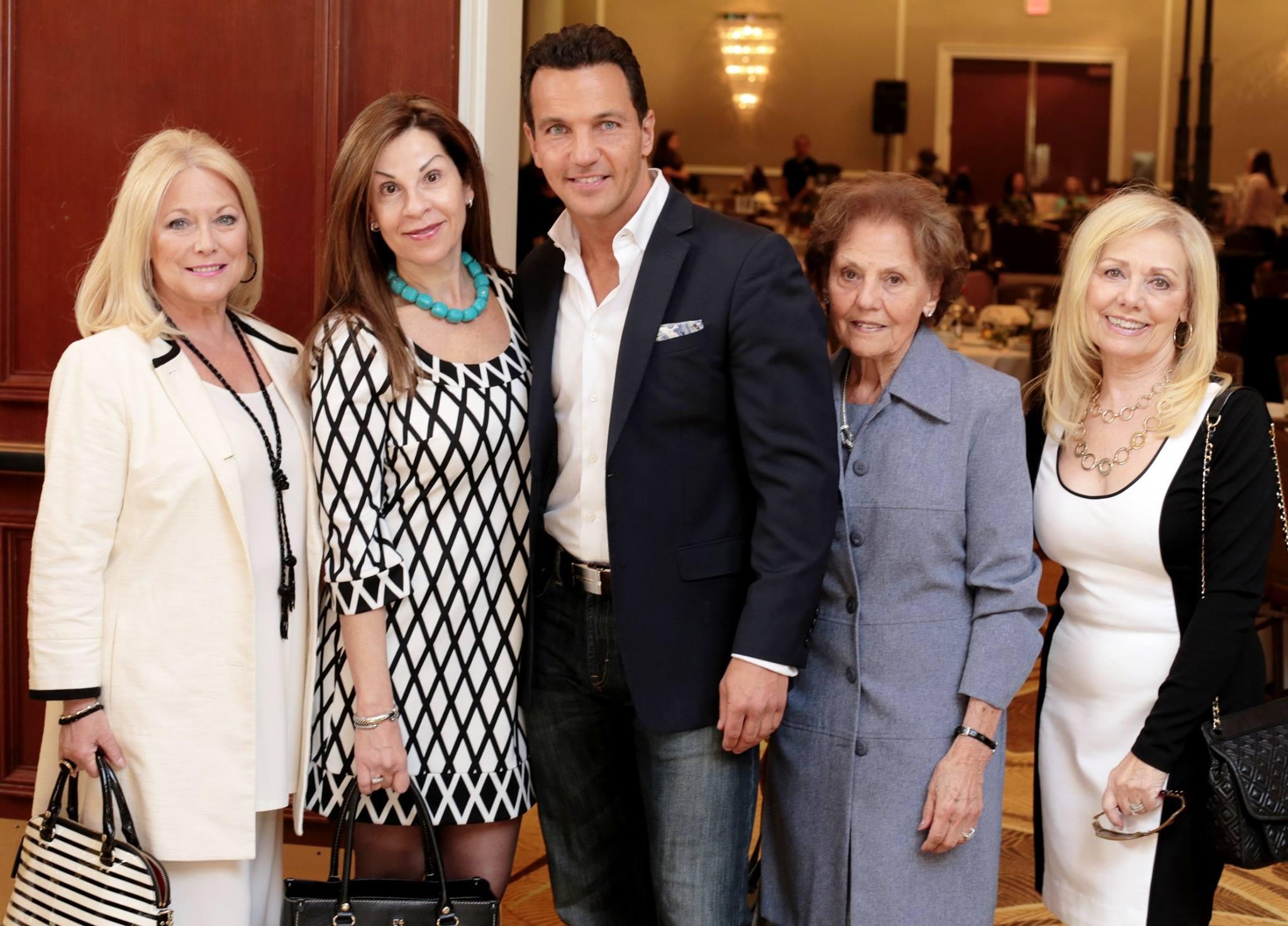 Marcello Pedalino, Linda T. Barba, Spring Fashion Fling for MS.