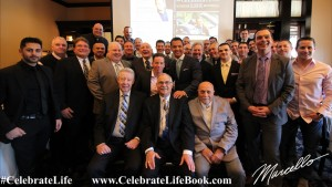 "Marcello Pedalino's Annual ""For The Gentlemen Luncheon and Celebrate Life book launch at Maggiano's."