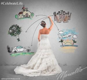 Marcello Pedalino, Celebrate Life, FairyTale Wedding Planning, Talk Space, CelebrateLifeBook.com