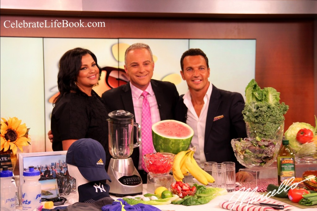 Marcello Pedalino, Celebrate Life, WPIX, Tips to stay cool, Health & Wellness tips with anchors Sukanya Krishnan and Scott Stanford
